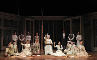 The company of A Little Night Music