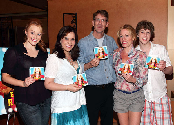 Betsy Wolfe, Lindsay Mendez, Dick Scanlan, Sherie Rene Scott, and Eamon Foley