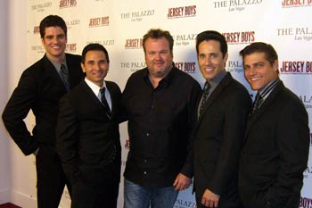 Peter Saide, Travis Cloer, Eric Stonestreet, Jeff Leibow, and Deven May