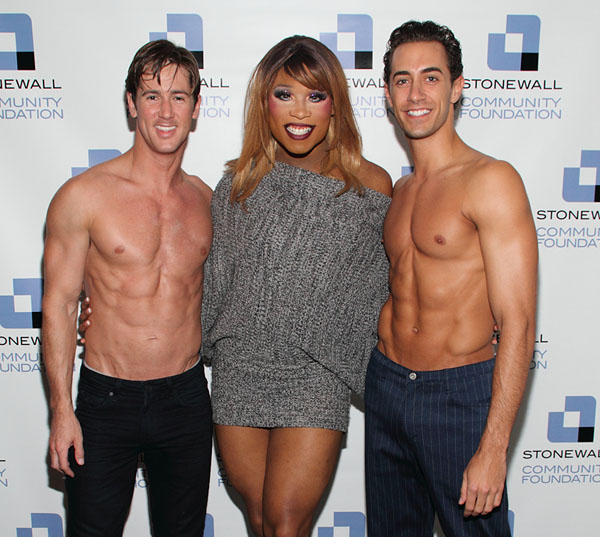 Adam Michael Hart, Ms. Peppermint, and Reed Kelly