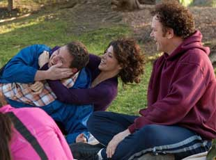 Jonah Hill, Marisa Tomei, and John C. Reilly in Cyrus