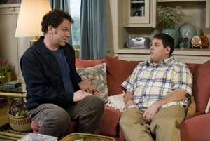 John C. Reilly and Jonah Hill in Cyrus