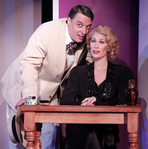 Robert Cuccioli and Jodi Stevens in