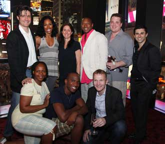 Gareth Saxe, Chauntee Schuler, Julie Taymor, Alton Fitzgerald White, Ben Jeffrey, Fred Berman, Tshidi Manye,Dashan Young, and Cameron Pow