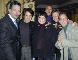 Billy Stritch, Gregg Gerson, Liza Minnelli, Desi Arnaz, Jr.Jim Caruso and Darren Sussman