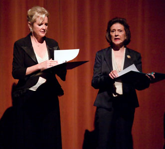 Christine Ebersole and Kelly Bishop