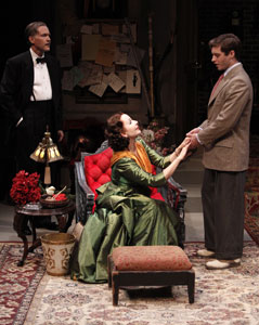 Boyd Gaines, Kate Burton, and Bobby Steggert