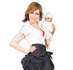 Anna Fishbeyn in a publicity image
