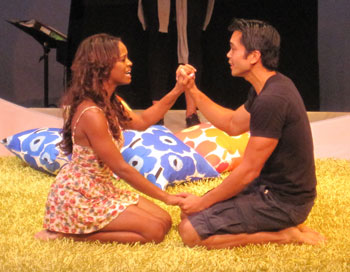 Krystal Joy Brown and Jose Llana