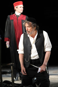 Lily Rabe and Al Pacino in