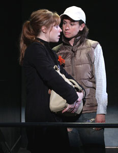 Angela Goethals and Hannah Cabell