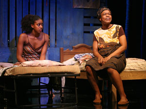 Condola Rashad and Quincy Tyler Bernstine in Ruined