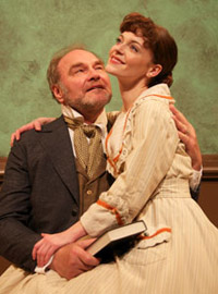 Sherman Howard and Stephanie Wright Thompson in Another Part of the Forest (© Dick Larson