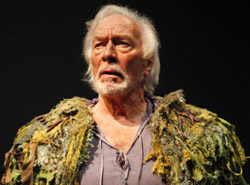 Christopher Plummer in The Tempest