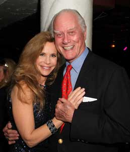 Mary Crosby and Larry Hagman