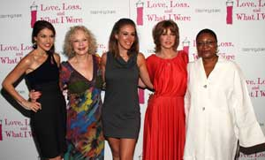 Ashley Austin Morris, Penny Fuller, Haylie Duff, Sharon Lawrence, and Myra Lucretia Taylor