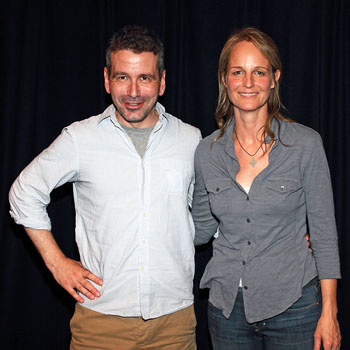 David Cromer and Helen Hunt