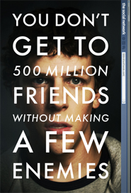Poster for The Social Network