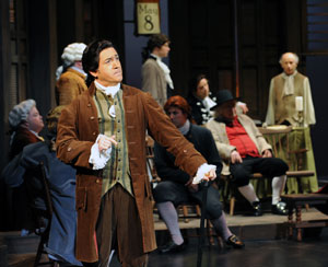 Steven Glaudini and company in 1776 (© Ken Jacques)
