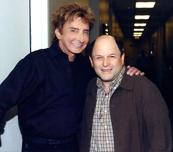 Barry Manilow and Jason Alexander