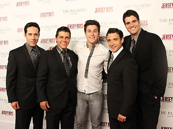 Jeff Leibow, Deven May, David Henrie, Rick Faugno, and Peter Saide