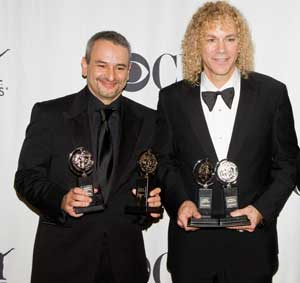Joe Di Pietro and David Bryan