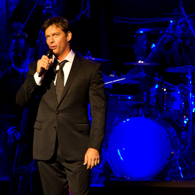 Harry Connick Jr and his band