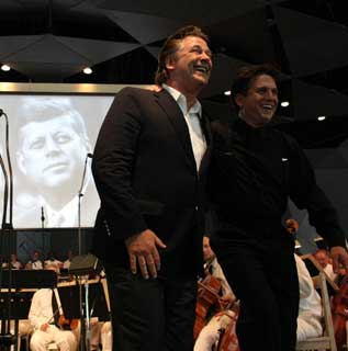 Alec Baldwin and Keith Lockhart
