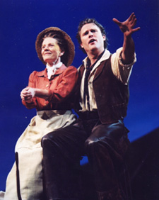 Patty Duke with Stephen R. Buntrockin Oklahoma!(Photo: © Joan Marcus)