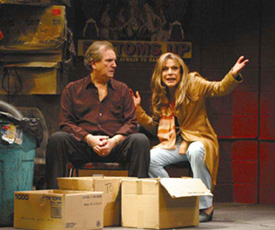 Danny Aiello and Jeannie Berlin in Adult Entertainment(Photo © Nancy Ellison)