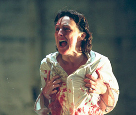Fiona Shaw as Medea(Photo: Neil Libbert)