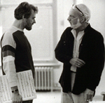 Stephen Sondheim with Harold Prince