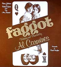 Faggot, by Al Carmines, the controversialauthor of the hard-to-find Joan