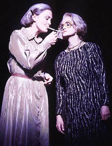 Cherry Jones and Swoosie Kurtz play bitter enemies in Imaginary Friends