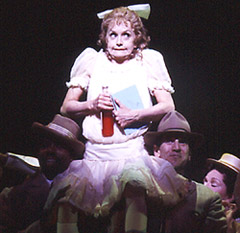 Swoosie Kurtz as little Lillian Hellmanin Imaginary Friends(Photo: © Joan Marcus)