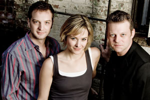 Euan Morton, Jill Paice, and Jeremy Kushnier star in Chess