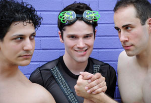 Charles Illingworth IV, Brent Knobloch, and Matt Lorenz
