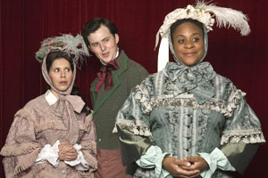 Dani Marcus, Stephen Trafton, and Danielle Lee Greaves