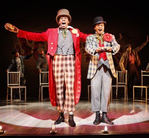 Colman Domingo and Forrest McClendon 