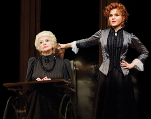 Elaine Stritch and Bernadette Peters in A Little Night Music (© Joan Marcus)