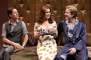 French Stewart, Peri Gilipin, and Matthew Modine inMatthew Modine Saves the Alpacas