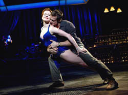 Holley Farmer and John Selya in Come Fly Away