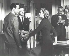 A scene from the film versionof Dial M for Murder