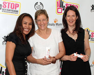 Somaly Mam, Carol Smolenski, and Shelley Simmons