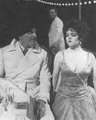 Robert Preston and Bernadette Petersin the original production of Mack & Mabel