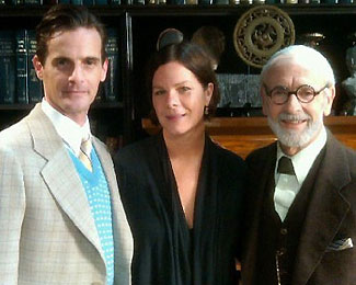Mark H. Dold, Marcia Gay Harden, and Martin Rayner