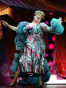 Harvey as Edna Turnblad in Hairspray(Photo: © Paul Kolnik)