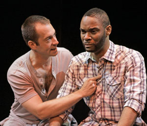 Jeff Binder and Demond Green in Romance