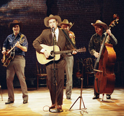 Jason Petty and cast in Hank Williams: Lost Highway(Photo: Aaron Epstein)