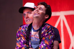Justin Okin and Andy Hirsch in MilkMilkLemonade (Photo courtesy of the company)